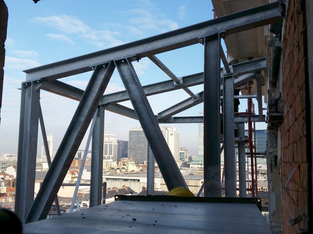 Construction et montage métallique